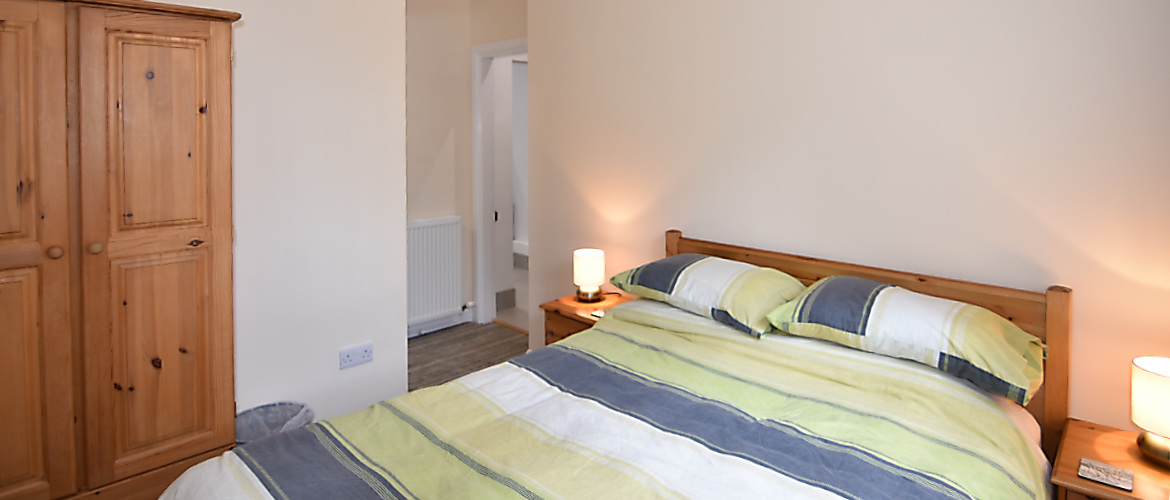 Silverline Downstairs bedroom with ensuite facilities