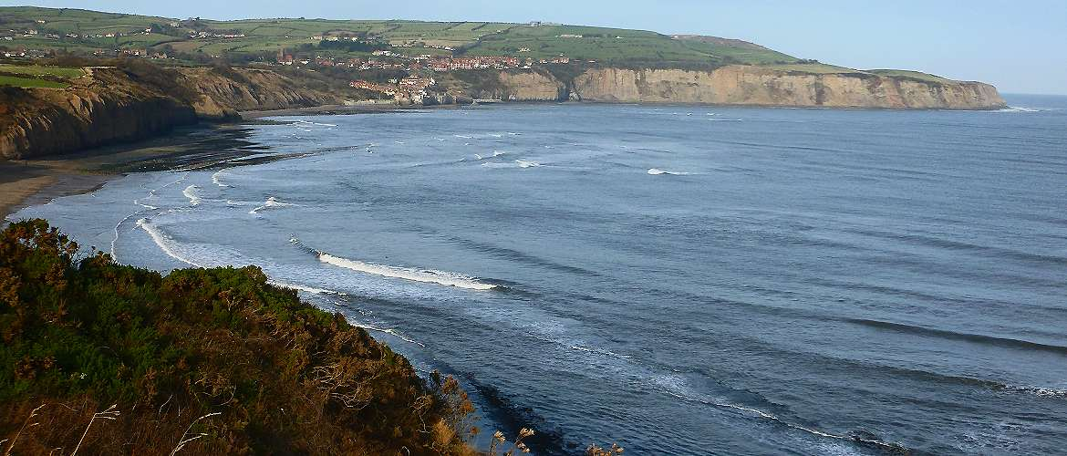 Robin Hoods Bay from Ravenscar