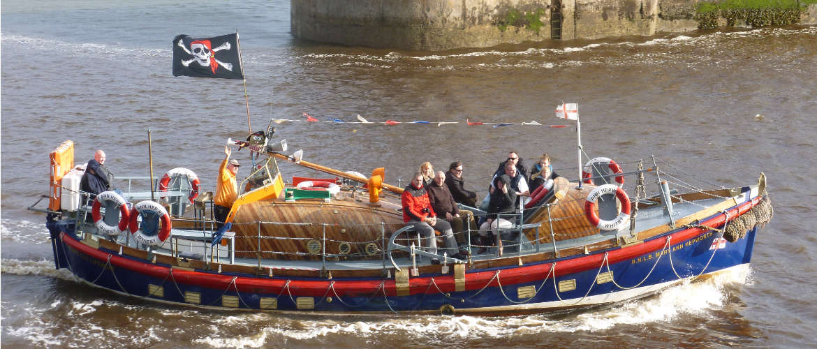 Whitby lifeboat rides