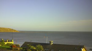 Filey sunny winters day
