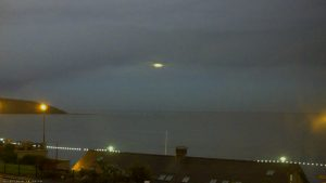 UFO over Filey Bay